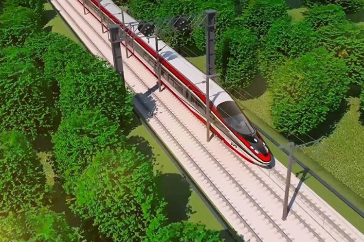 Rusia construye tren de alta velocidad para su país