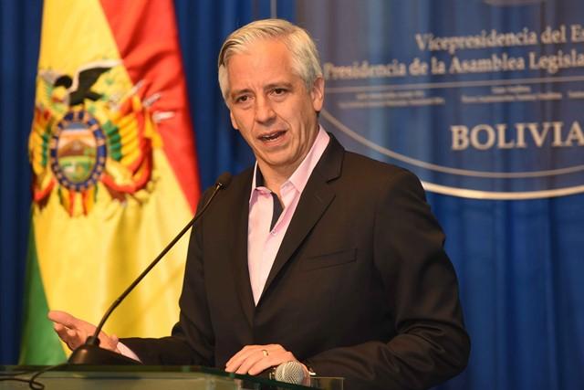 García Linera: La economía es clave para la sostenibilidad de un gobierno progresista