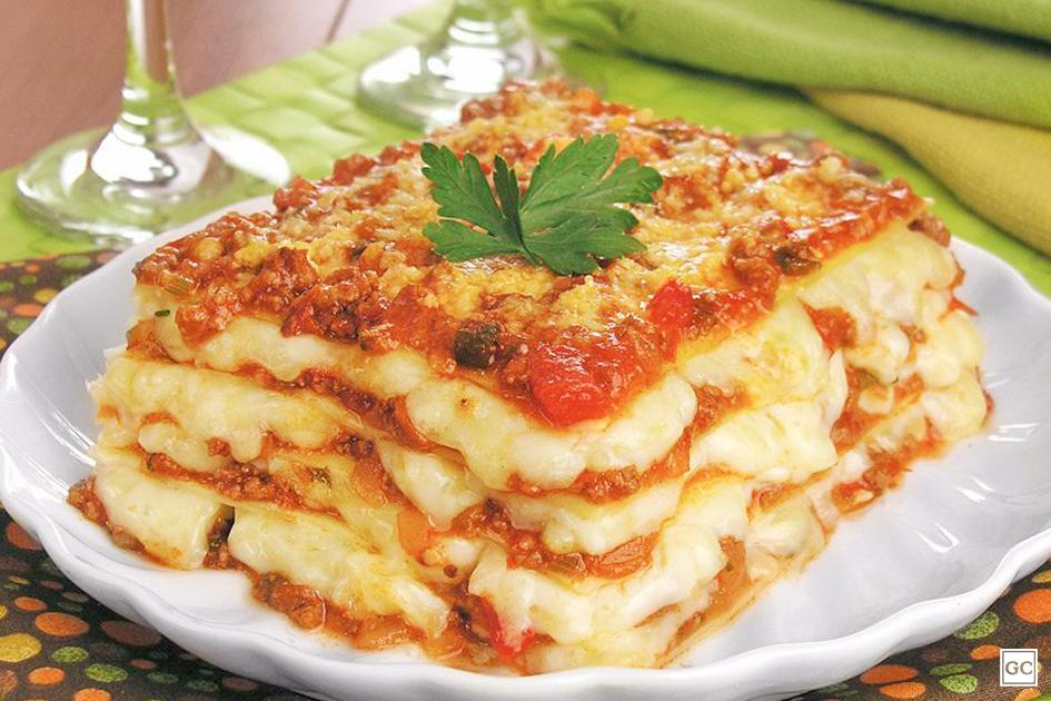 Conoce las maravillas de la cocina italiana: ¡Pasta con lasaña a la boloñesa!