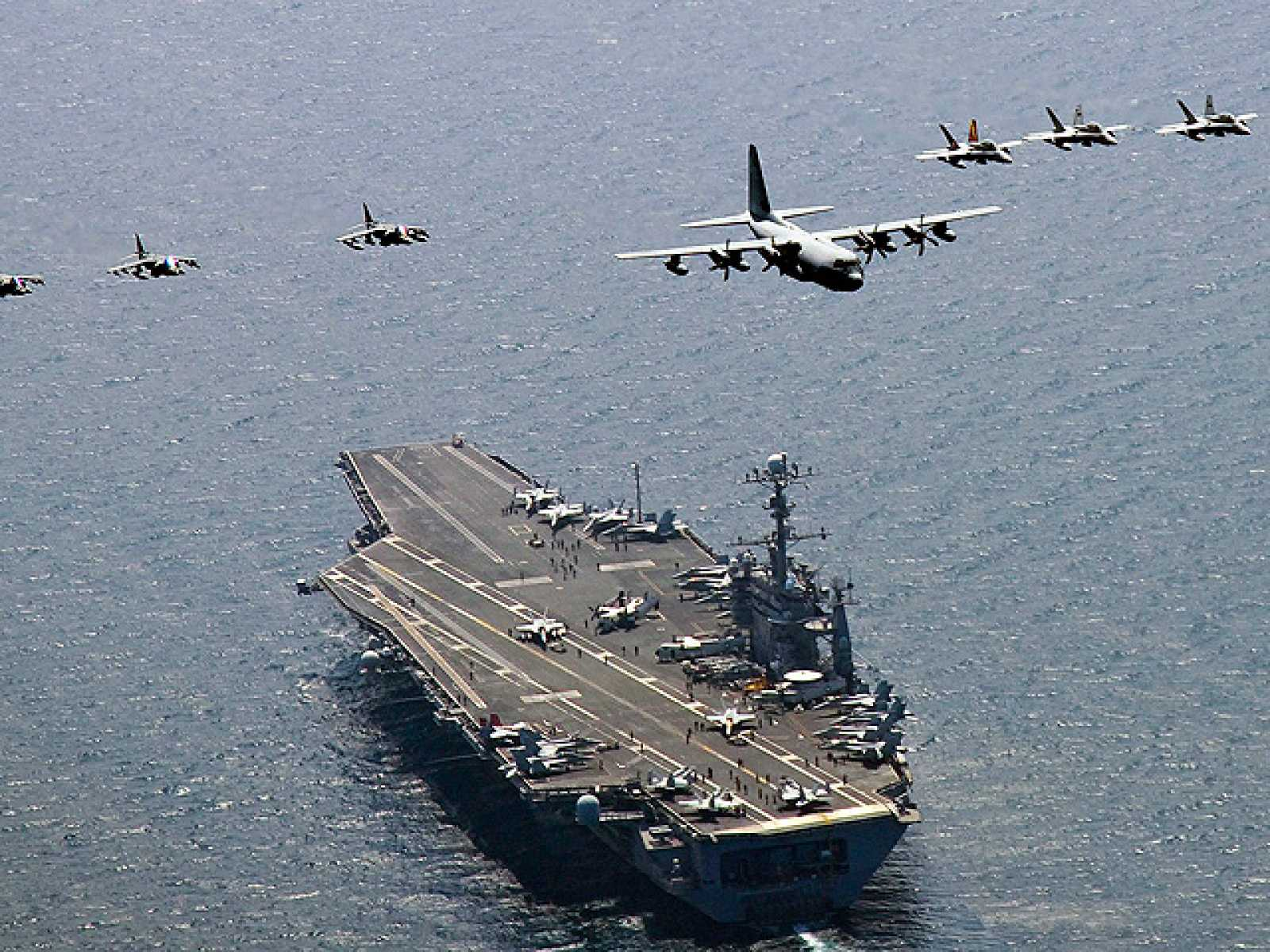 EE. UU. y Corea del Sur reanudarán maniobras marítimas conjuntas por primera vez en 6 meses
