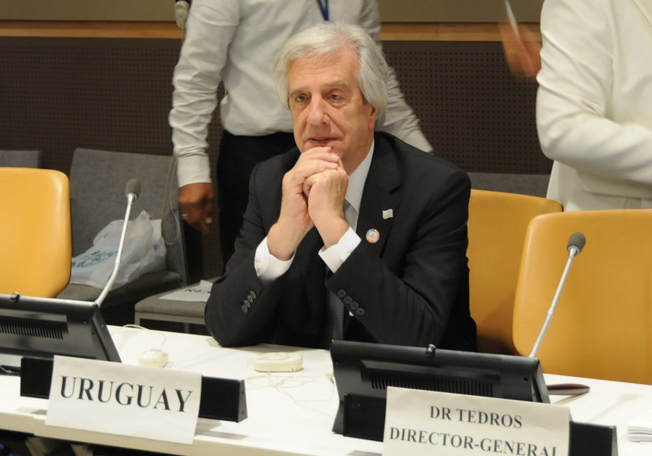 Presidente Tabaré Vásquez Uruguay
