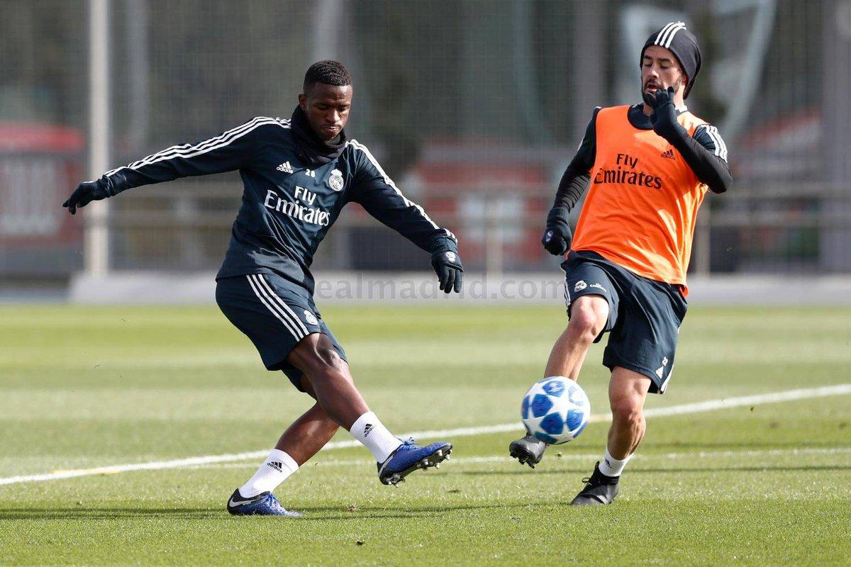 eal Madrid entrenamientos