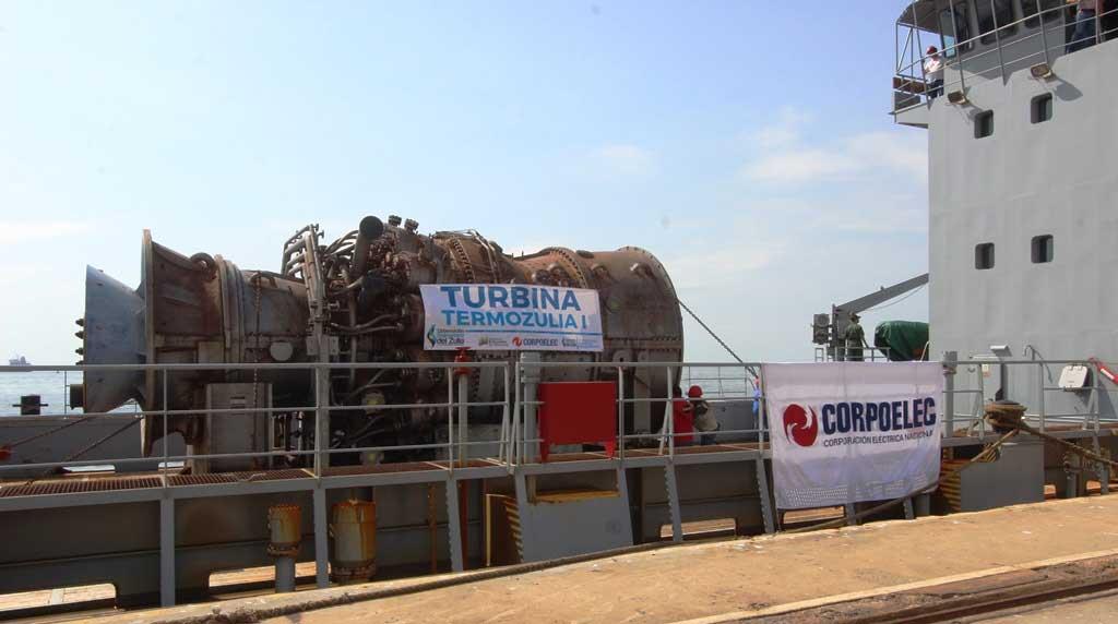 Turbogeneradores rusos Venezuela
