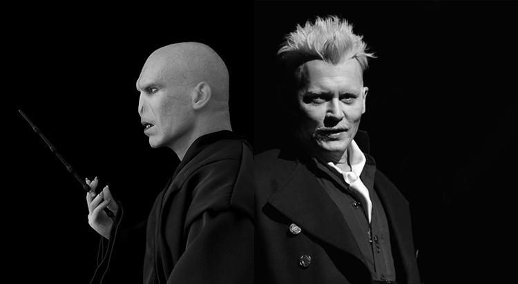 La diferencia entre Voldemort y Grindelwald: uno da miedo, el otro es encantador