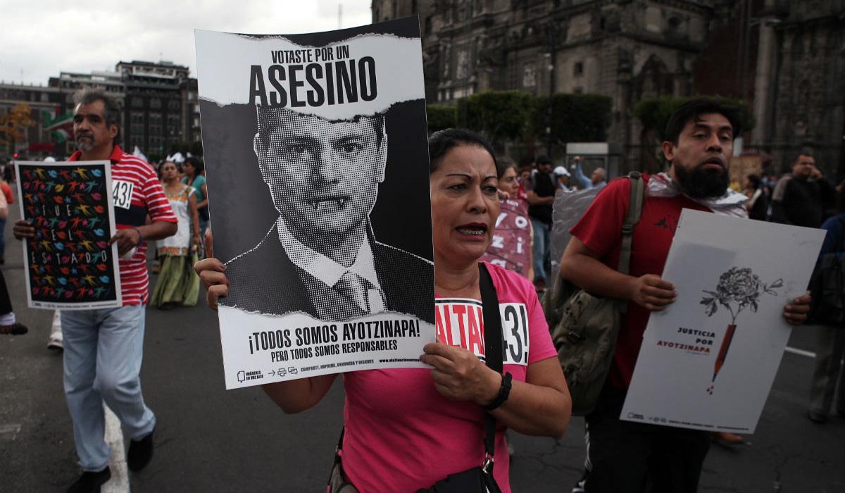 Caso Ayotzinapa: Autoridades mexicanas protegieron a los grupos criminales