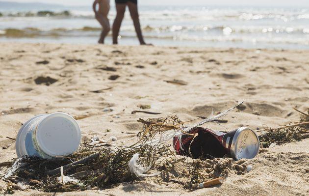 Multas de 192 mil pesos: Aprueban ley que castiga botar basura en playas, ríos y parques nacionales