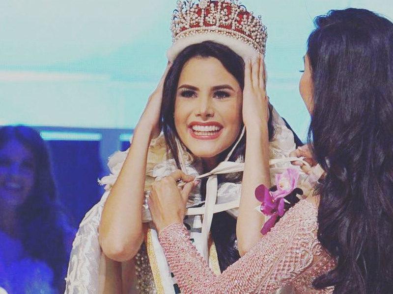 Venezolana Mariem Velazco se corona como la nueva Miss Internacional 2018
