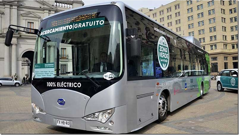 Buses eléctricos buscan reducir la contaminación en urbes latinomericanas