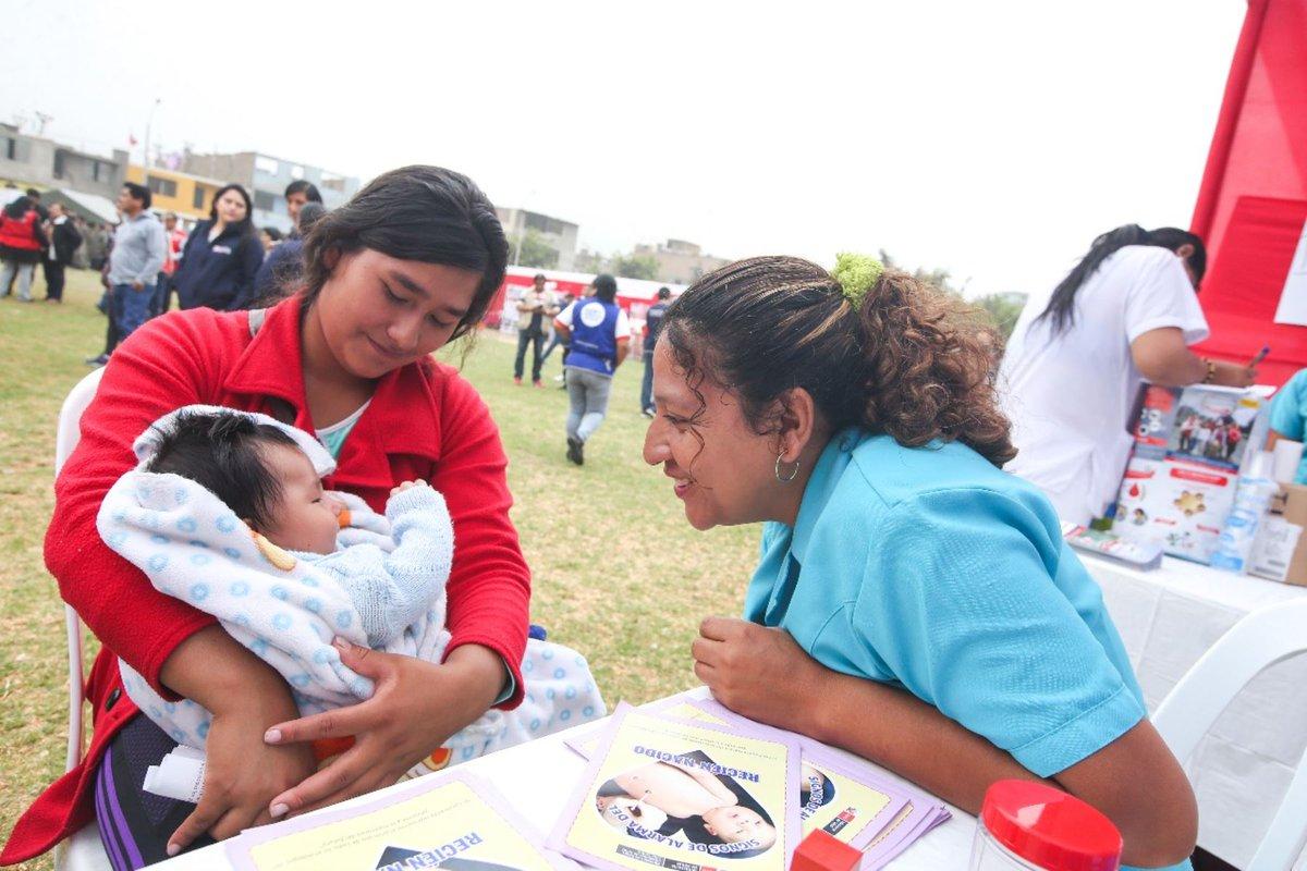 Perú busca reducir la anemia infantil a menos del 20 % para 2021