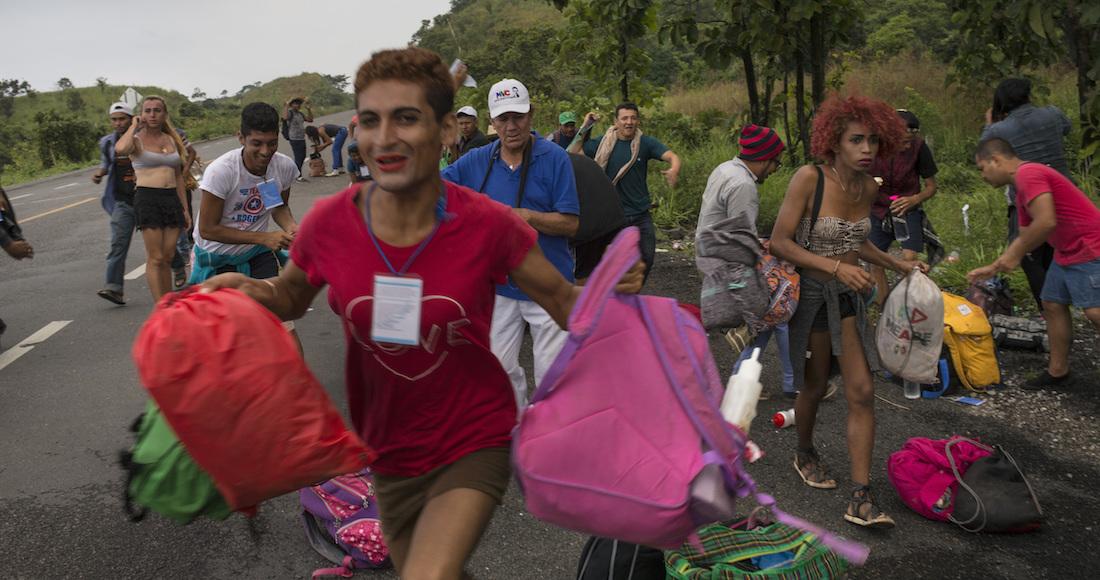 Migrantes centroamericanos LGBTI  son víctimas de la discriminación