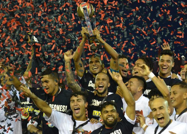 Deportivo Lara se tituló campeón del Torneo Clausura 2018 del fútbol venezolano