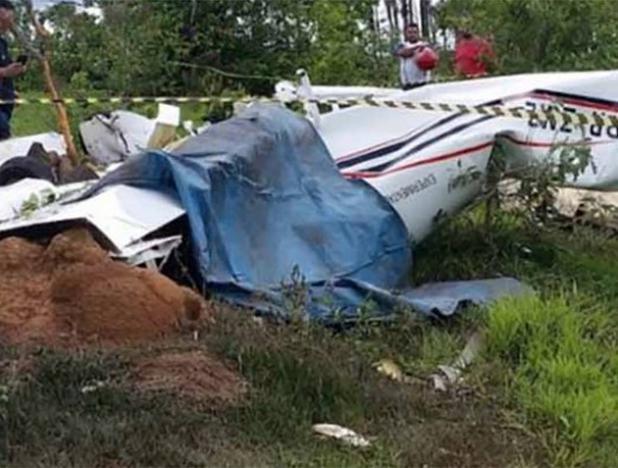 Miembros de una familia fallecen en accidente aéreo en Brasil