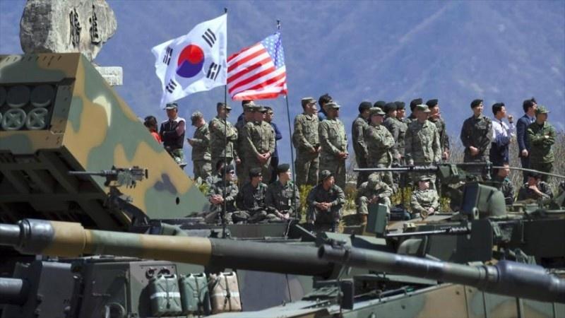 Maniobras militares reanudadas por EE. UU. y Seúl violan acuerdo de paz alcanzado con Corea del Norte