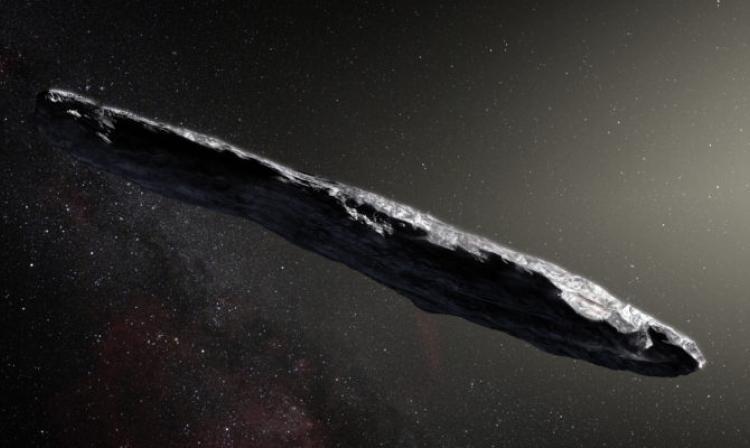 Un extraño cuerpo espacial podría ser una sonda alienígena