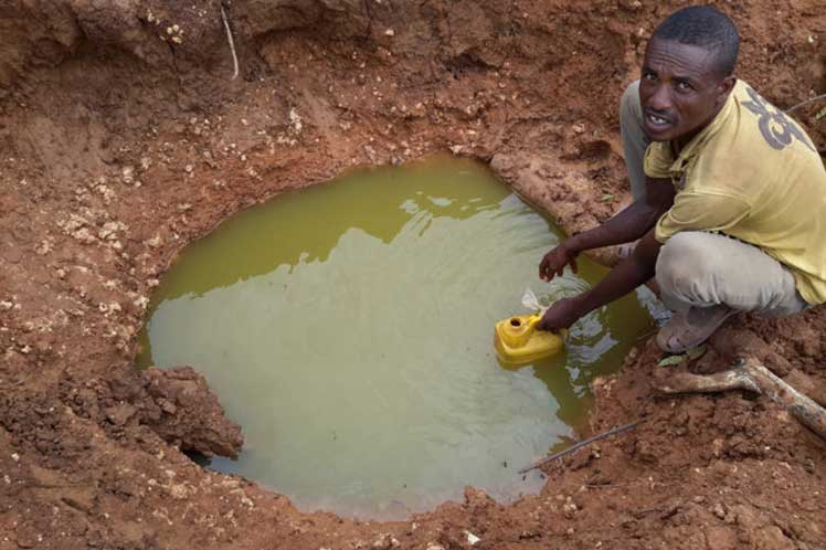 Instalan bodegas potabilizadoras de agua en Etiopía