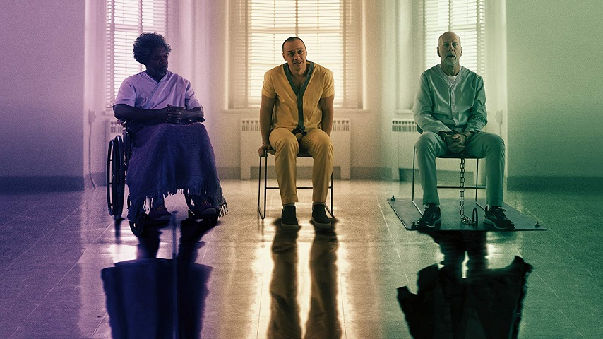 """El último spot de """"Glass"""" une a los chicos malos de M. Night Shyamalan"""