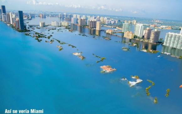 El mar se podría tragar a cien grandes ciudades por el cambio climático