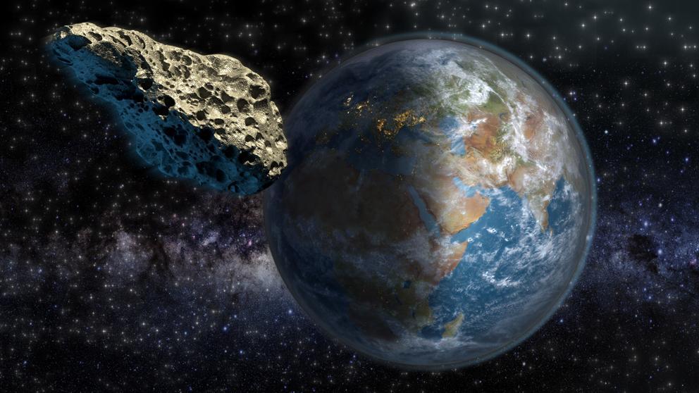 Un enorme asteroide se acerca a toda velocidad hacia la Tierra