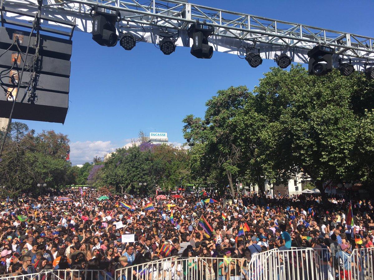 Santiago: 80 mil personas marcharon por el matrimonio igualitario y la adopción homoparental