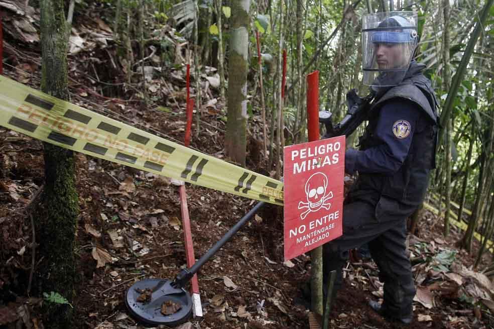 (Video) Dos indígenas elevan número de víctimas por minas antipersona en Colombia