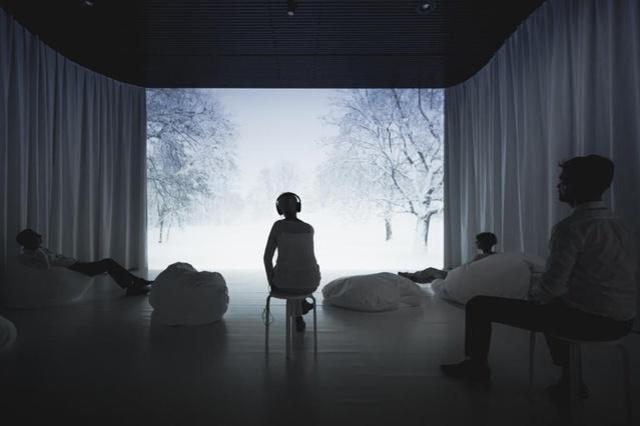 """Experiencia intuitiva sorprendente: En Suiza abren exposición sobre el """"sonido"""" del silencio"""