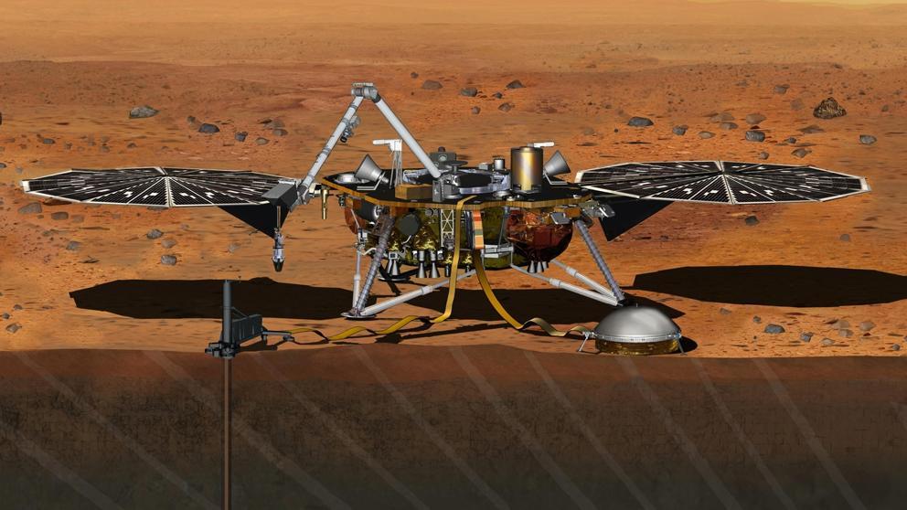 La sonda InSight aterrizó en Marte tal y como se planeó desde la NASA