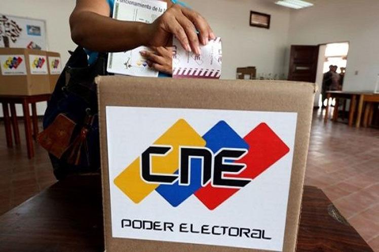 cne llama a respetar las normas electorales