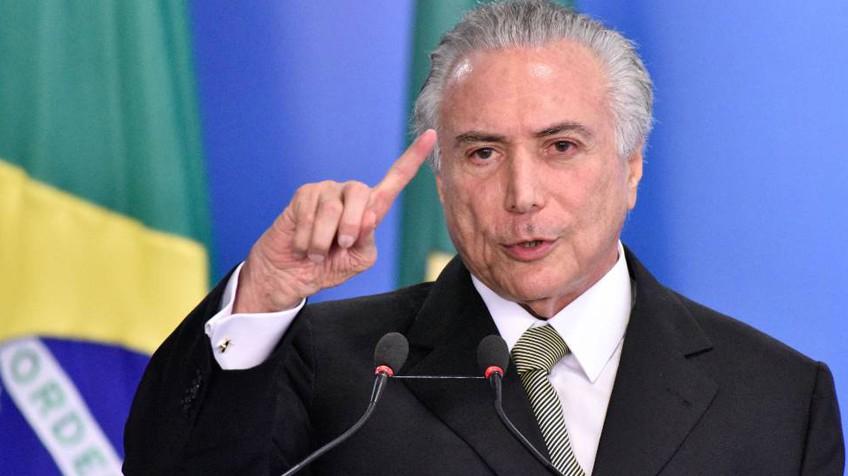 Temer no indultó a ningún preso en Brasil por navidades