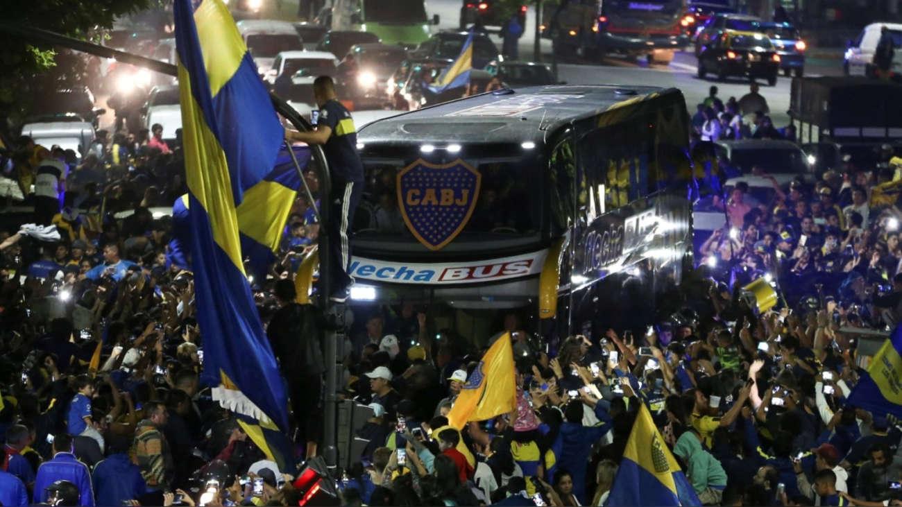 Arrestado uno de los violentos que atacó el autobús de Boca Juniors