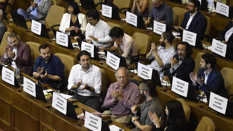 Frente Amplio: Andrés Chadwick debería renunciar «porque le ha mentido al país»
