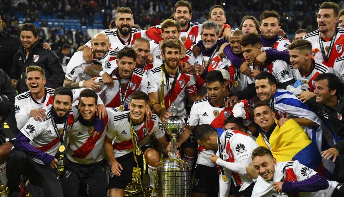 River Plate se coronó campeón de la Copa Libertadores al vencer 3-1 al Boca Juniors
