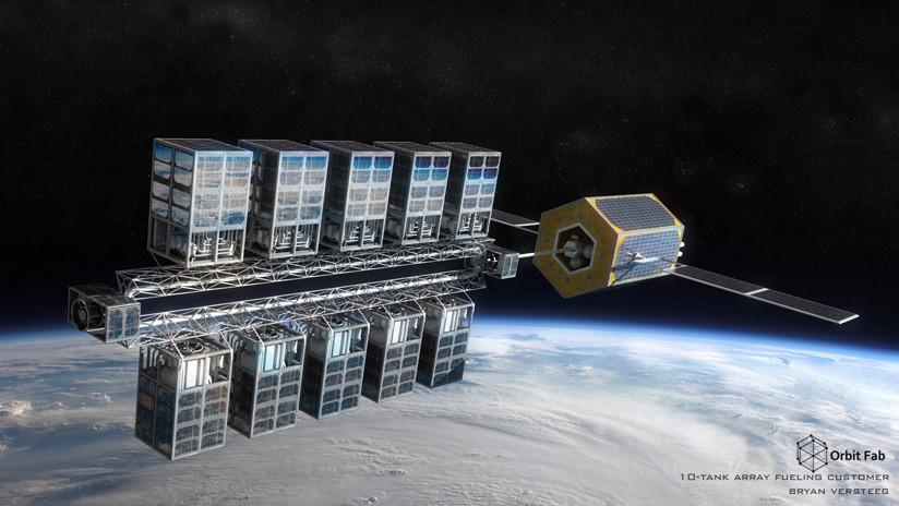 """Científicos pondrán en órbita una """"gasolinera espacial"""" para satélites"""