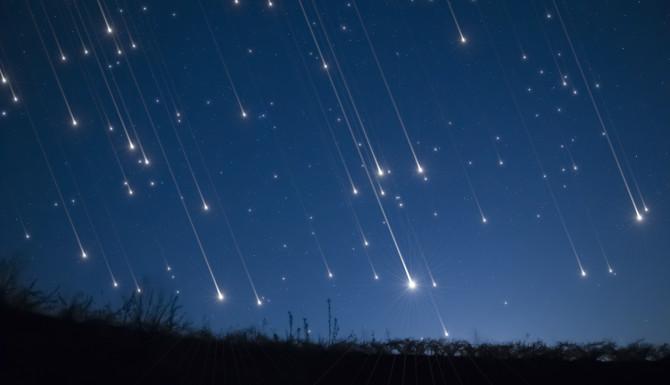 Una impresionante lluvia de meteoritos de Geminidas cierra el 2018