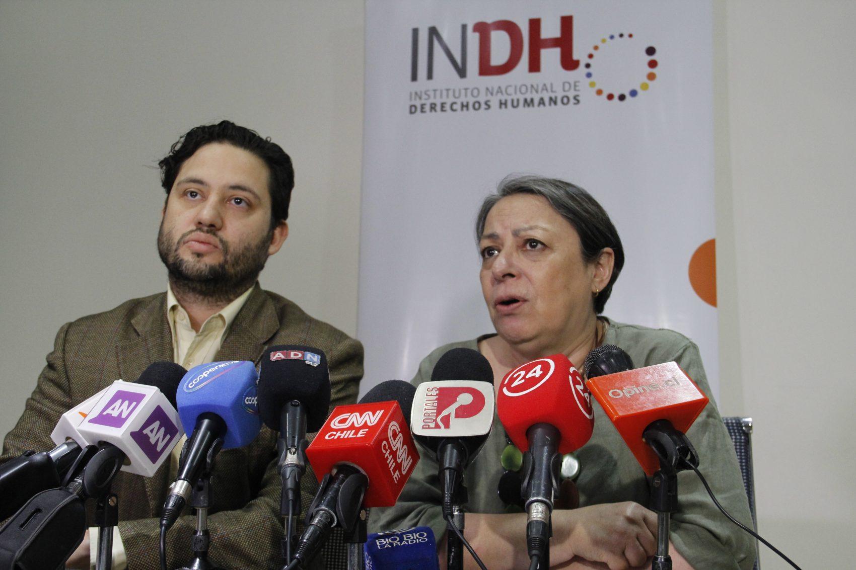 No hay caso: INDH anuncia acciones judiciales contra Carabineros por nuevo episodio de violencia contra adolescente que acompañaba a Camilo Catrillanca