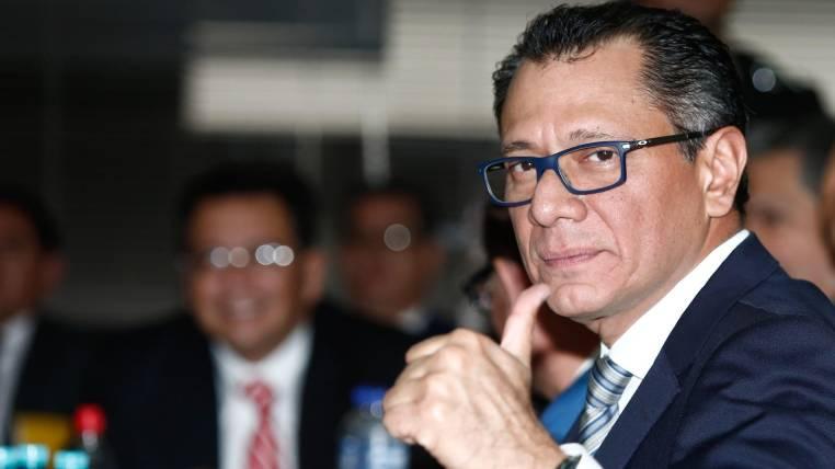 Jorge Glas solicita ayuda para detener «la carnicería política»