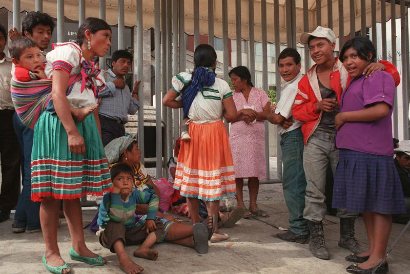 Liberan a indígenas presos que no tenían dinero para pagar fianza en México