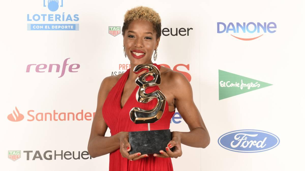 (Video) Venezolana Yulimar Rojas es galardonada como una de las mejores atletas de 2018
