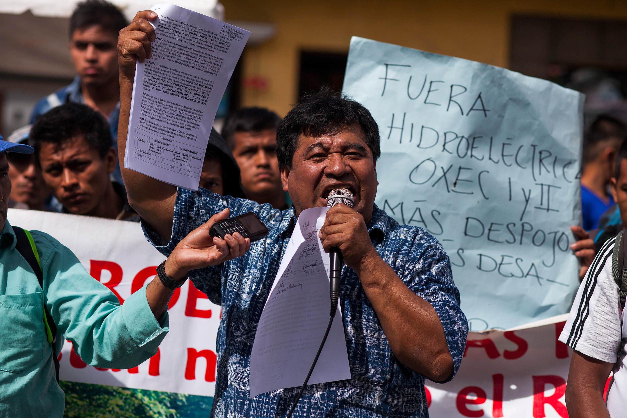 ONU exige a Guatemala respetar DD. HH. de líder indígena encarcelado injustamente