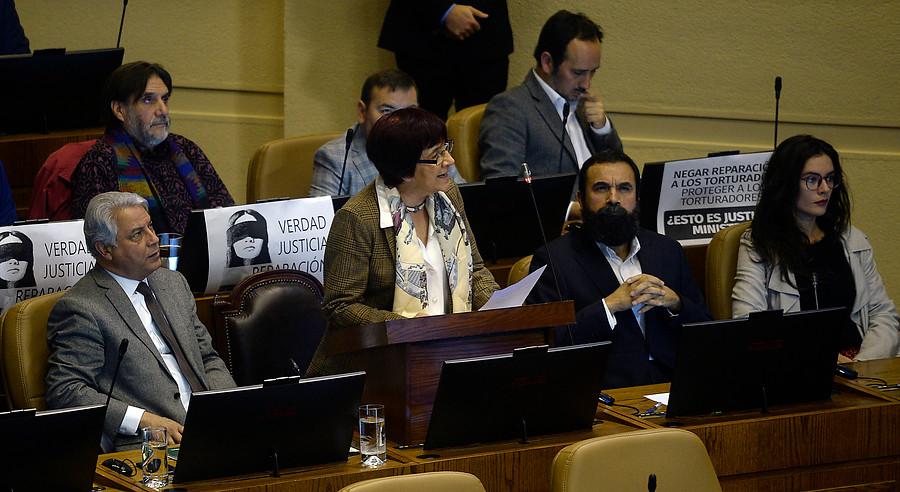 Bancada Comunista y proyecto de libertades condicionales: Es un avance contra la impunidad de los violadores a los DD.HH.