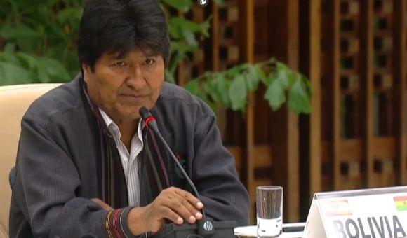 (Video) Evo Morales denuncia nuevos métodos golpistas de EE. UU.