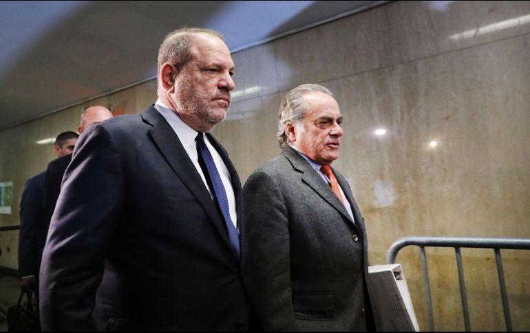 Fecha del juicio contra Harvey Weinstein se sabrá el próximo 7 de marzo