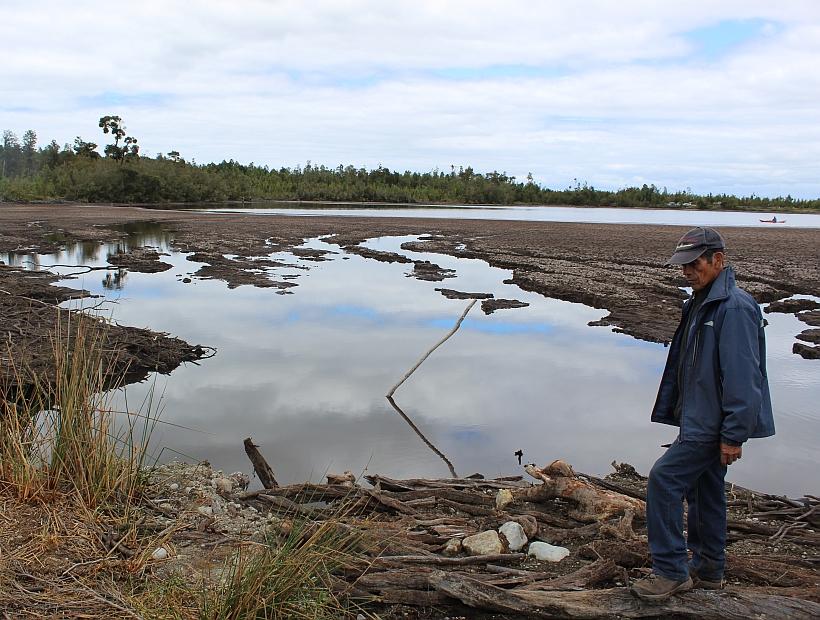 Calbuco: Comunidades indígenas presentan querella por daño ambiental en laguna Huayamo