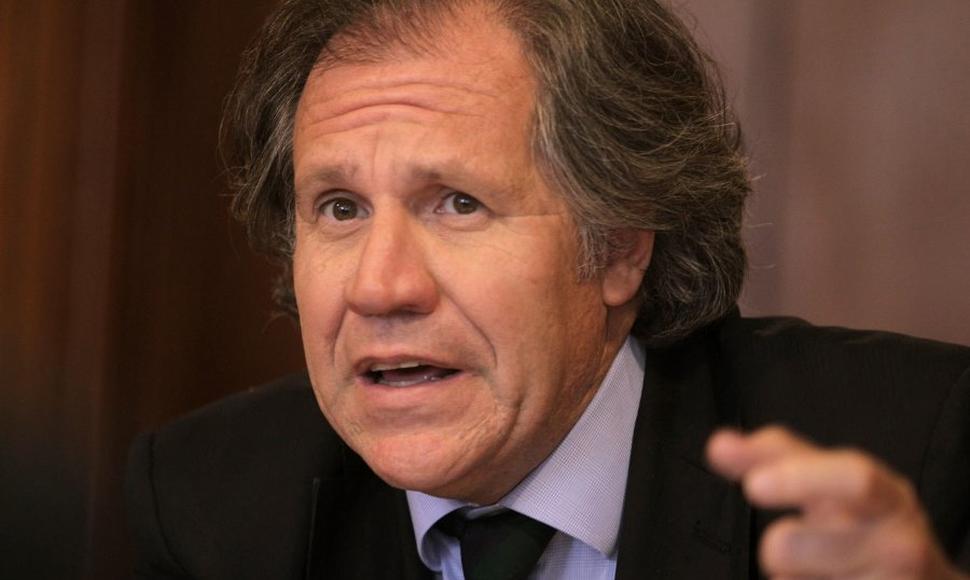 Almagro trabaja por su reelección: Inicia aplicación de la Carta Democrática a Nicaragua