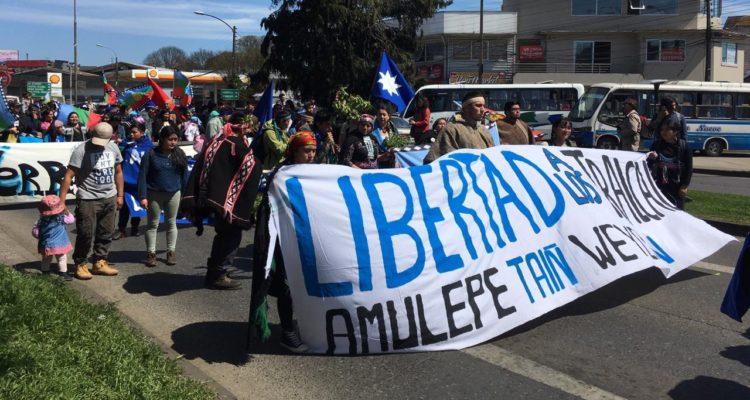 Masiva marcha en Temuco por autonomía mapuche y en repudio al asesinato de Camilo Catrillanca