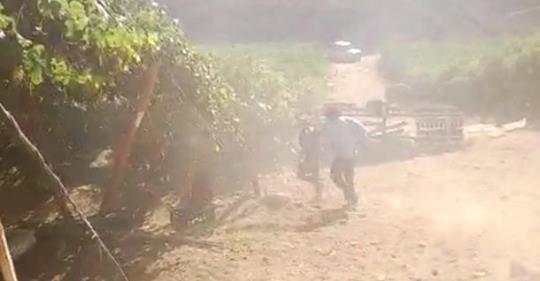Trabajadores piden fiscalización urgente tras grave accidente de temporeros en Monte Patria