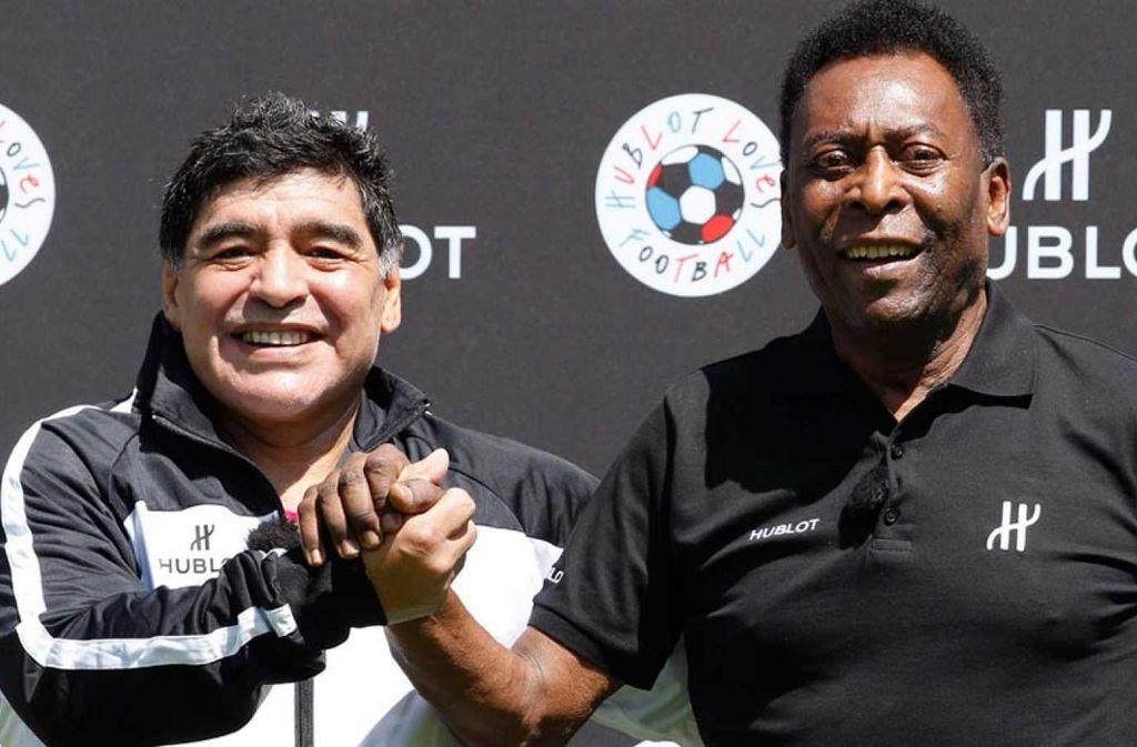 Pelé enciende la polémica: Maradona fue mejor jugador que Messi