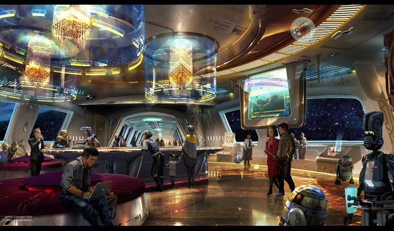 El hotel temático de Star Wars ofrecerá una experiencia de otra galaxia