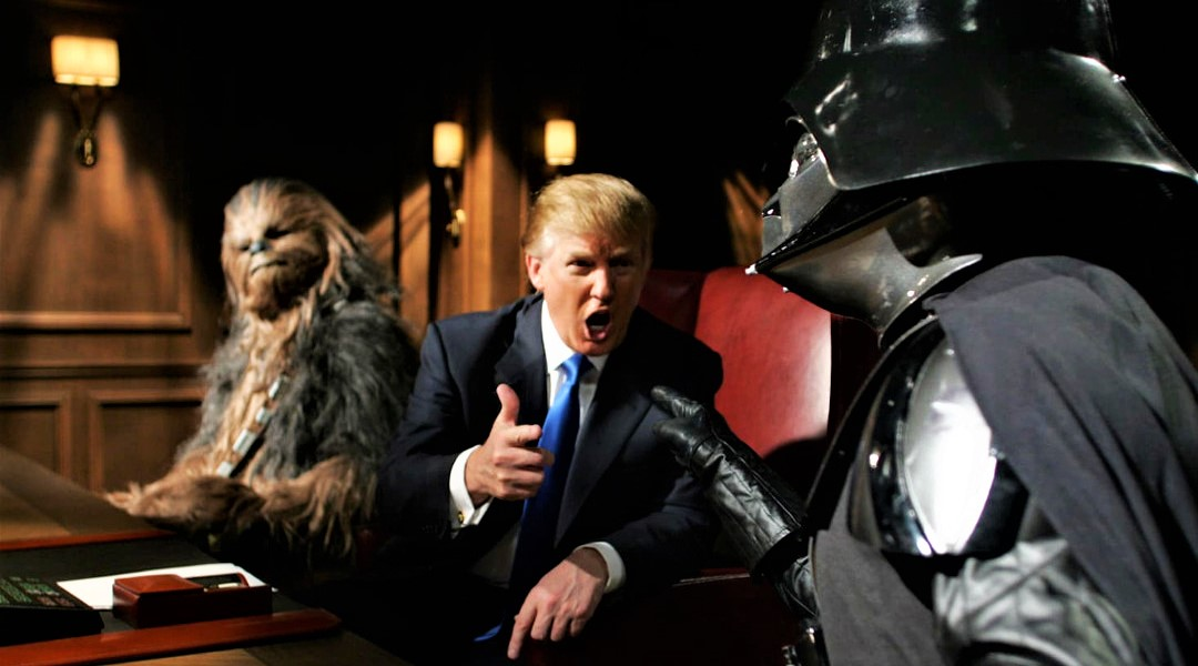Se acabó la ficción: Trump quiere llevar la guerra al espacio