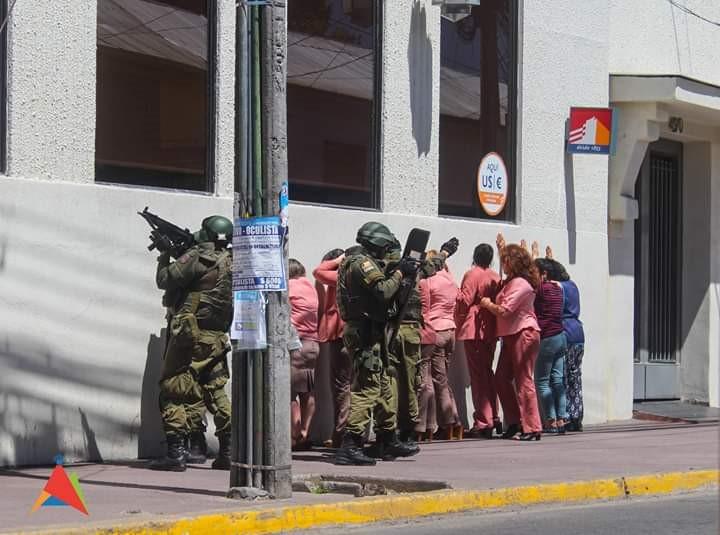 Linares: Despiden a responsables de simulacro de asalto que no fue informado a los trabajadores de un banco