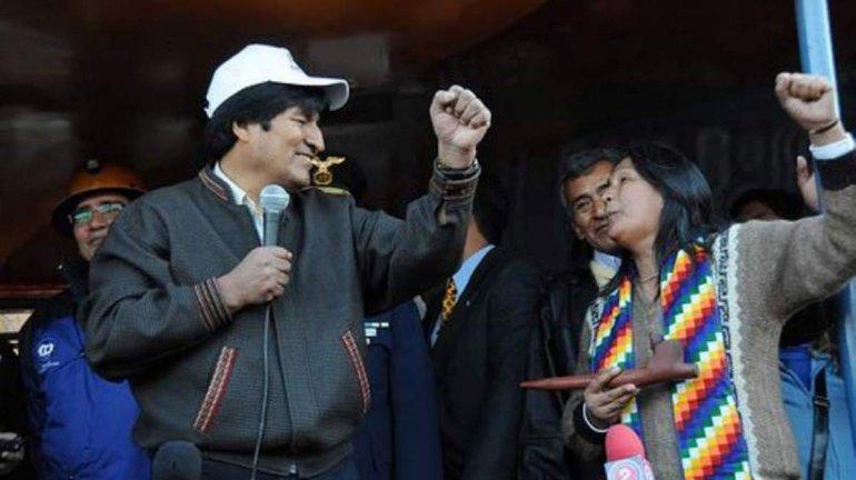 (Video) Evo Morales rechaza sentencia contra Milagro Sala en Argentina